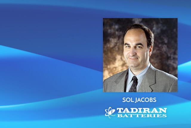 Sol Jacobs of Tadiran Batteries