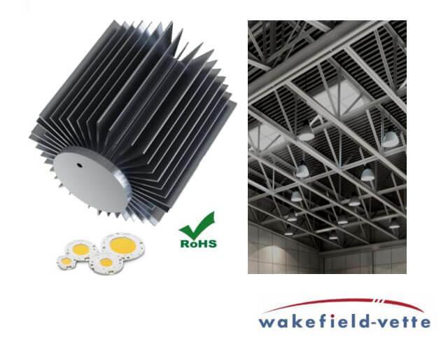 Wakefield-Vette HiBay LED Heatsink