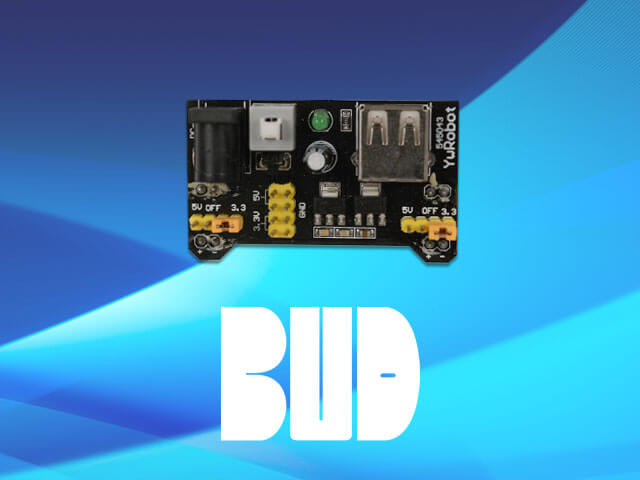 BUD Industries breadboard power supply