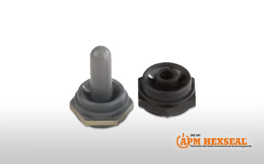 APM inverted bellows toggle switch boot
