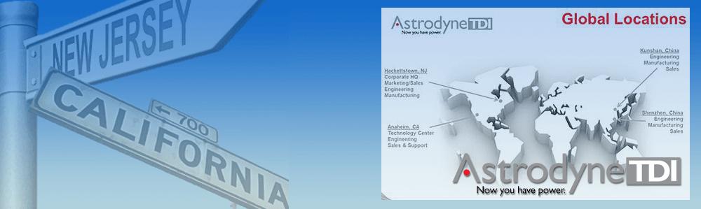 Astrodyne locations