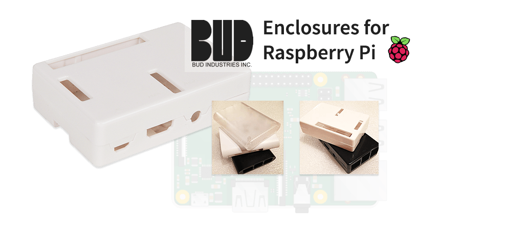 Enclosures for Raspberry Pi