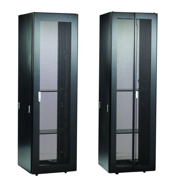 Bud Industries' large cabinet server rack