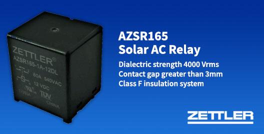 Solar ac relay