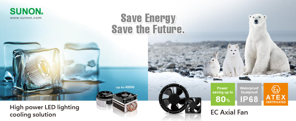 Sunon energy saving solutions