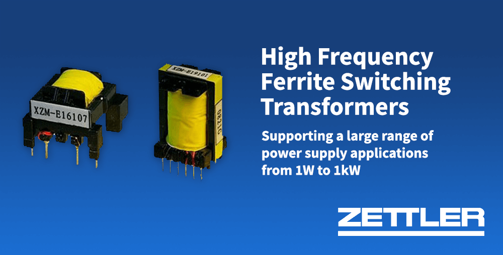 high frequency ferrite switching transformers