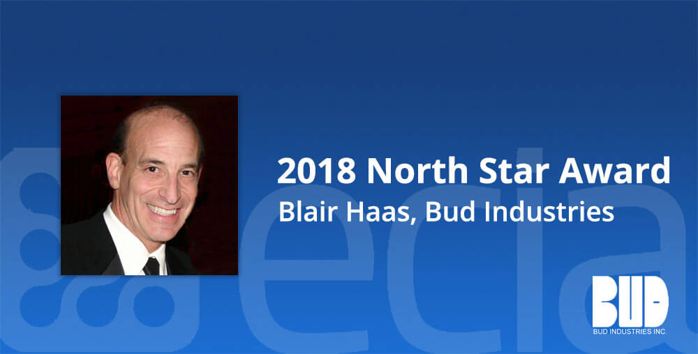 2018 North Star Award Bud Industries Blair Haas