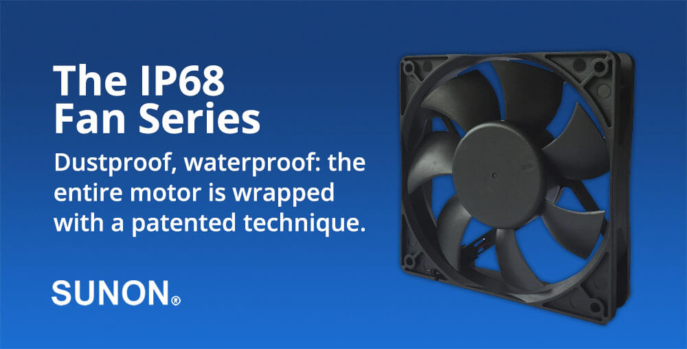 IP68 Dustproof Waterproof Fan Series