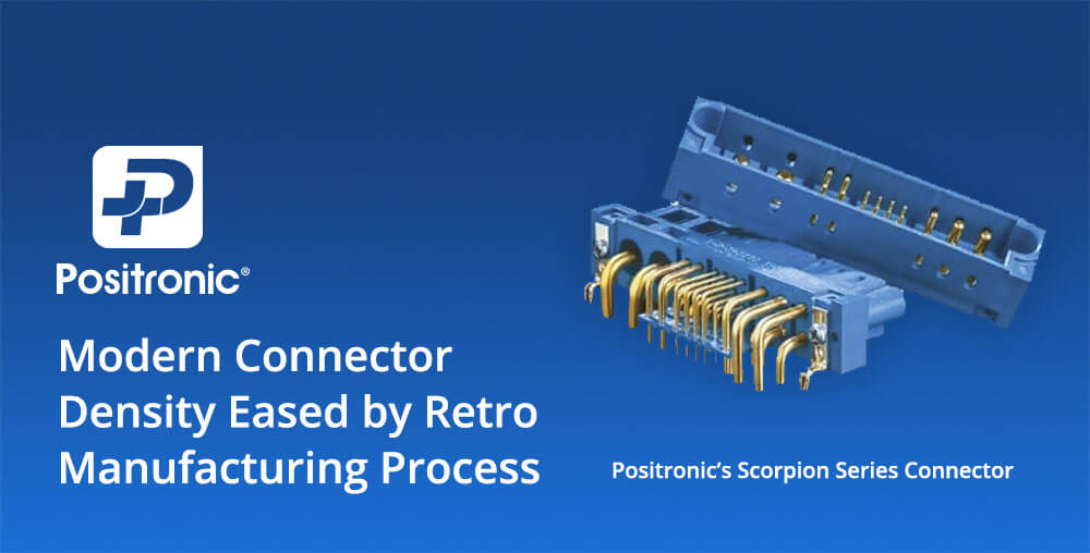 positronic scorpion sp series connector