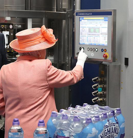 Queen using EAO HMI