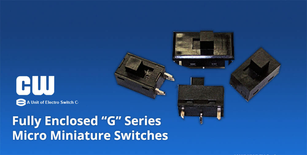 G Series micro miniature switches by CW Industries