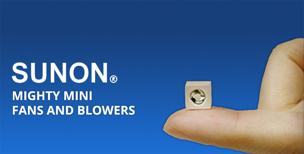 Mighty Mini Fans and Blowers - Sunon