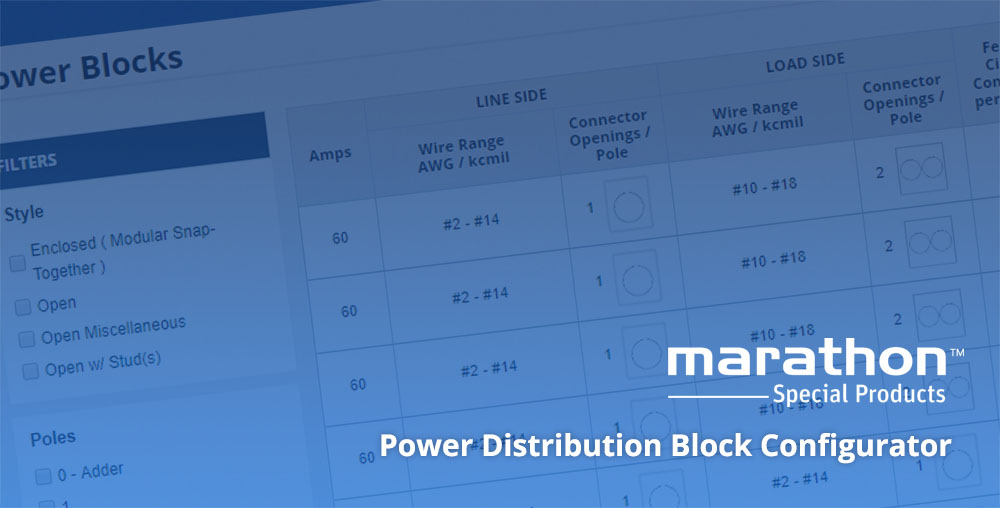Power block configurator - Marathon Special Products