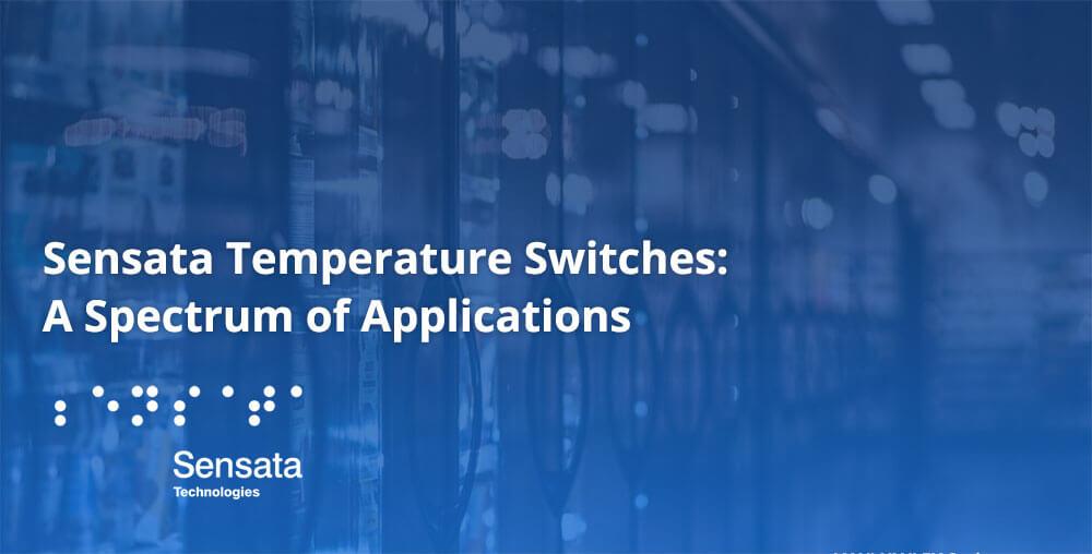 Sensata temperature sensor for refrigerators