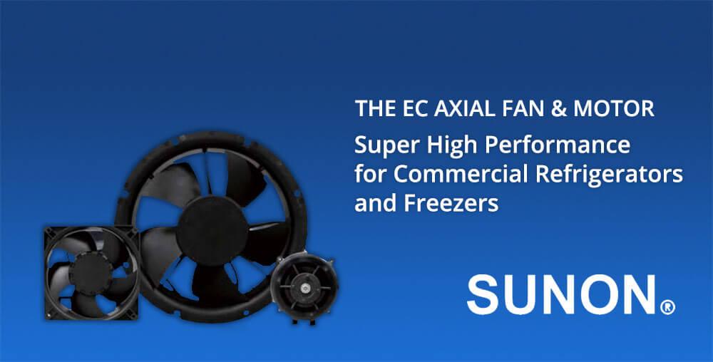 EC Axial Fan and Motor