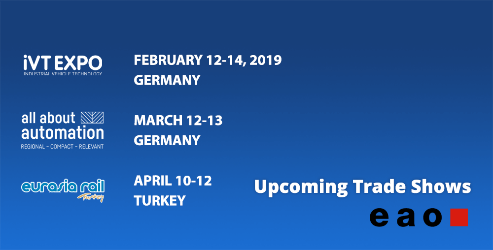 European technology trade shows spring 2019