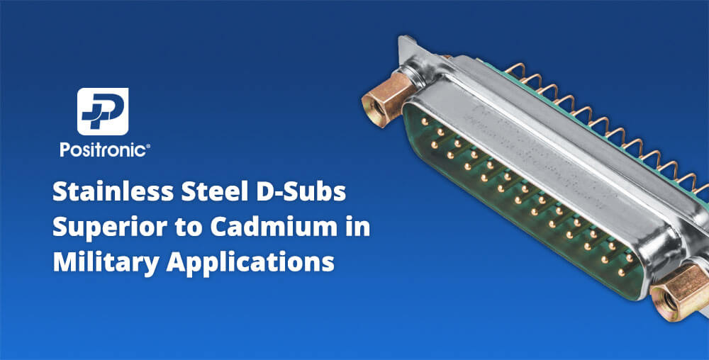 Stainless steel D-Subs
