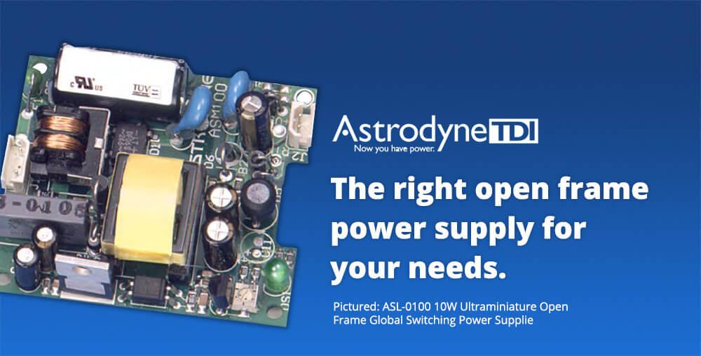 Astrodyne open frame power supplies