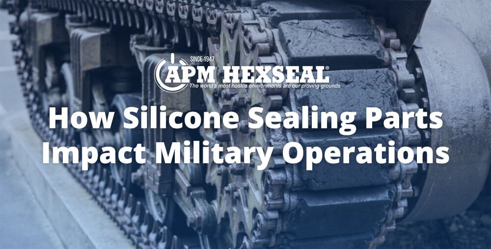 How Silicone Sealing Parts Impact Military Operations