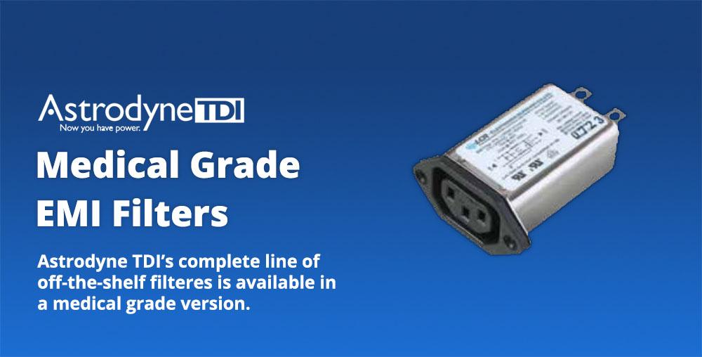 Astrodyne TDI medical grade emi filters