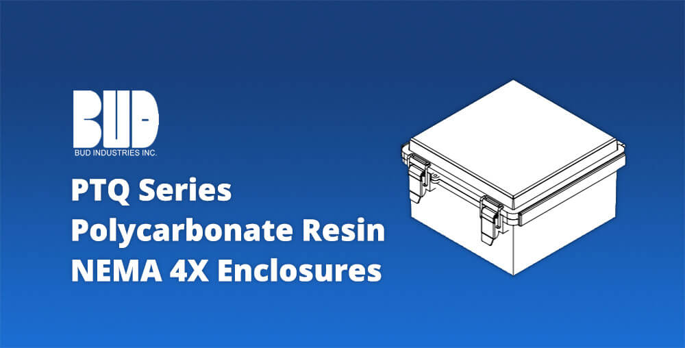 Bud NEMA4x polycarbonate resin enclosures