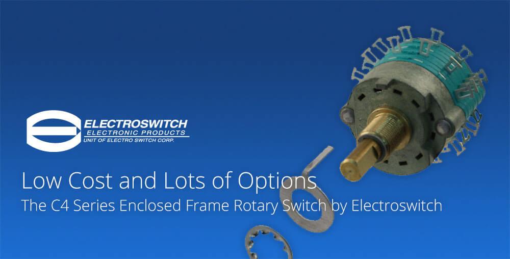 Electroswitch C4 Rotary Switch