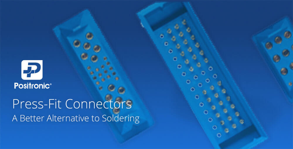 Press-Fit Connectors - PCB - Positronic