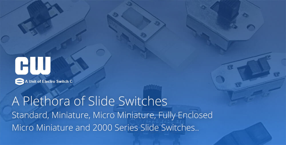 Slide switches by CW Industries