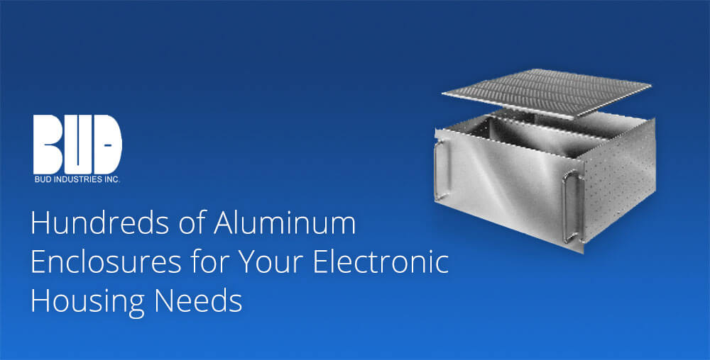 Aluminum enclosures for electronics