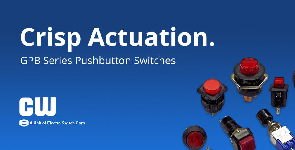 GPB Series Push button Switches