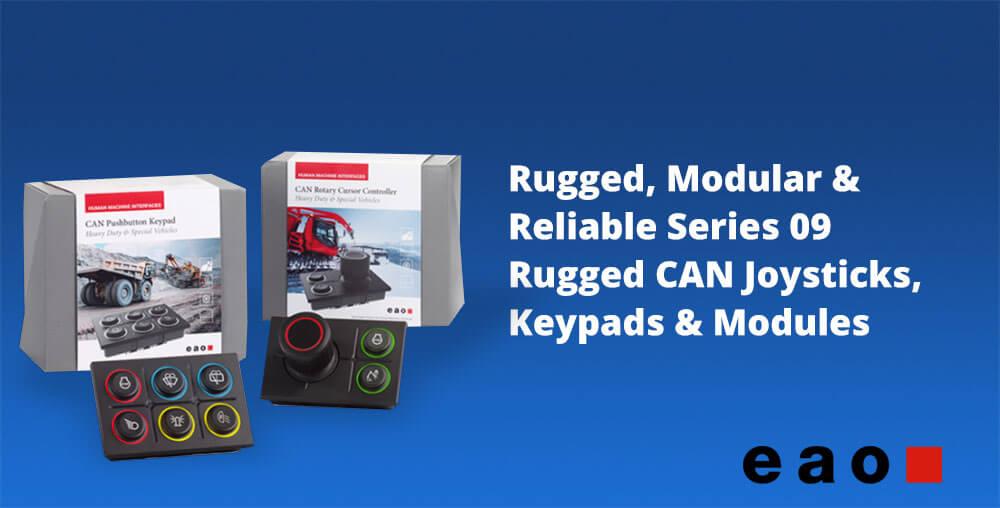 CAN Modules Joysticks and Keypads 1