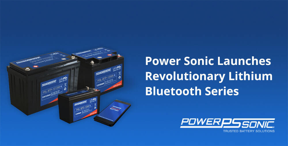 Power Sonic Bluetooth Batteries
