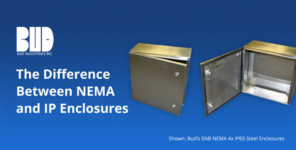 What is the difference between NEMA 4x and IP65 Steel Enclosures