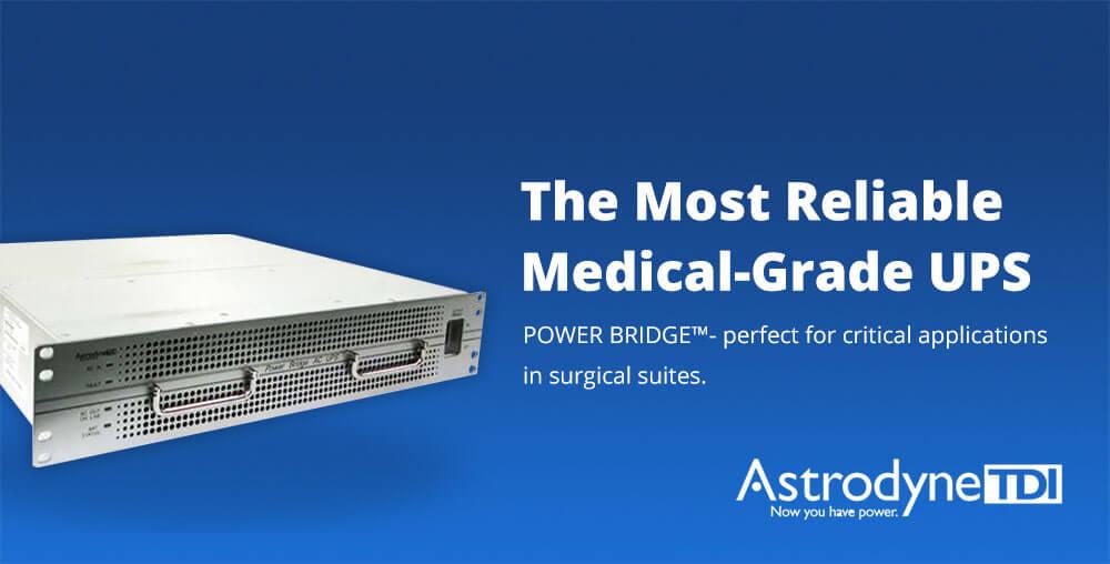 Medical Grade UPS POWER BRIDGE by AstrodyneTDI