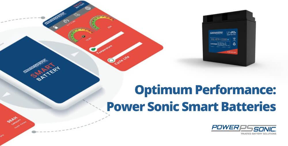 Smart lithium batteris bluetooth Power Sonic