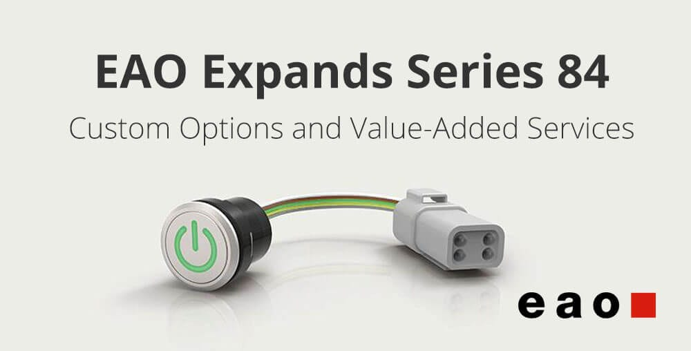 EAO illuminated pushbuttons - Series 84