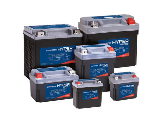 Power Sonic LiFeP04 Hyper Sport Series batteries