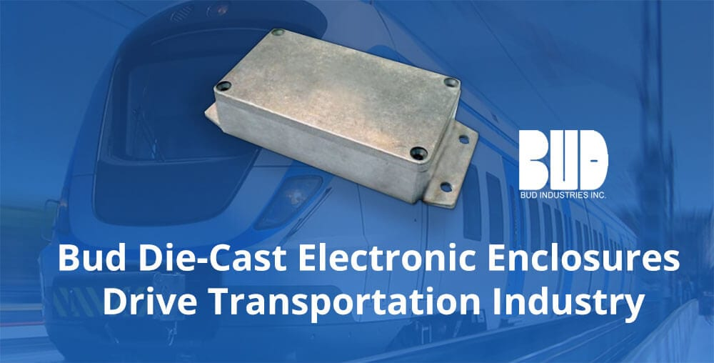 aluminum enclosures for electronics in transportation industry