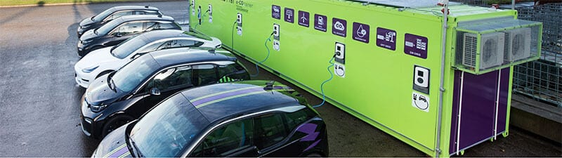 charging cars