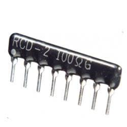 Network Hybrid Resistors