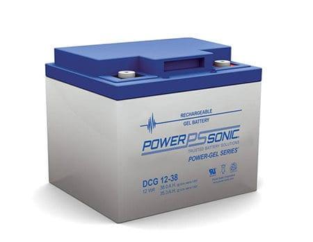 DCG Series Deep Cycle Gel Batteries by Power Sonic