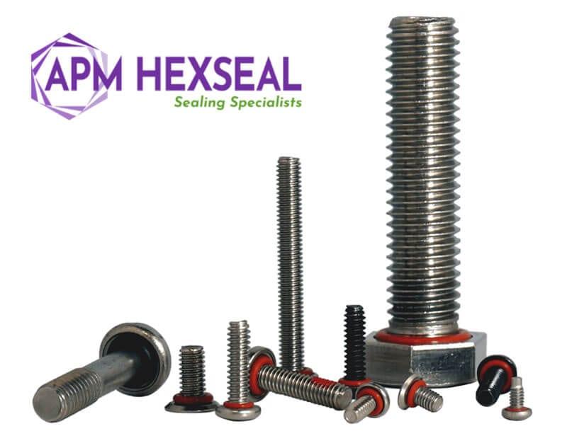 self sealing screws and bolts