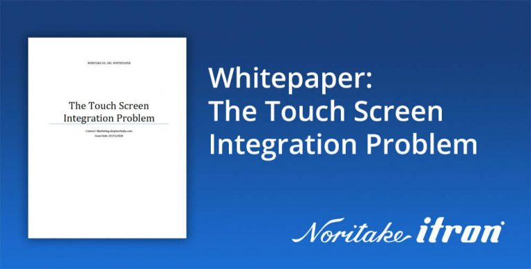touch screen integration