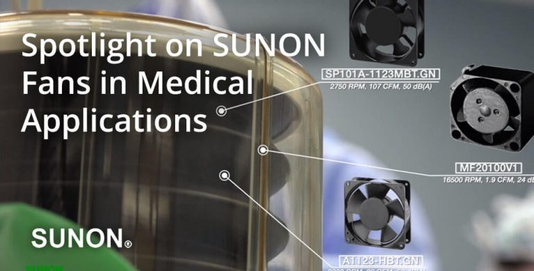 sunon fans in medical applications