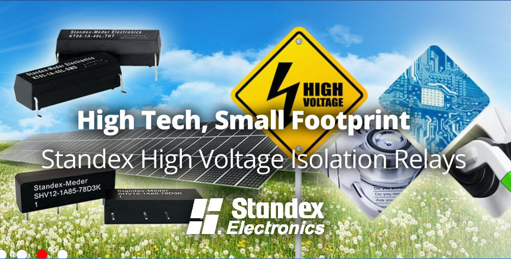 High voltage isolation relays