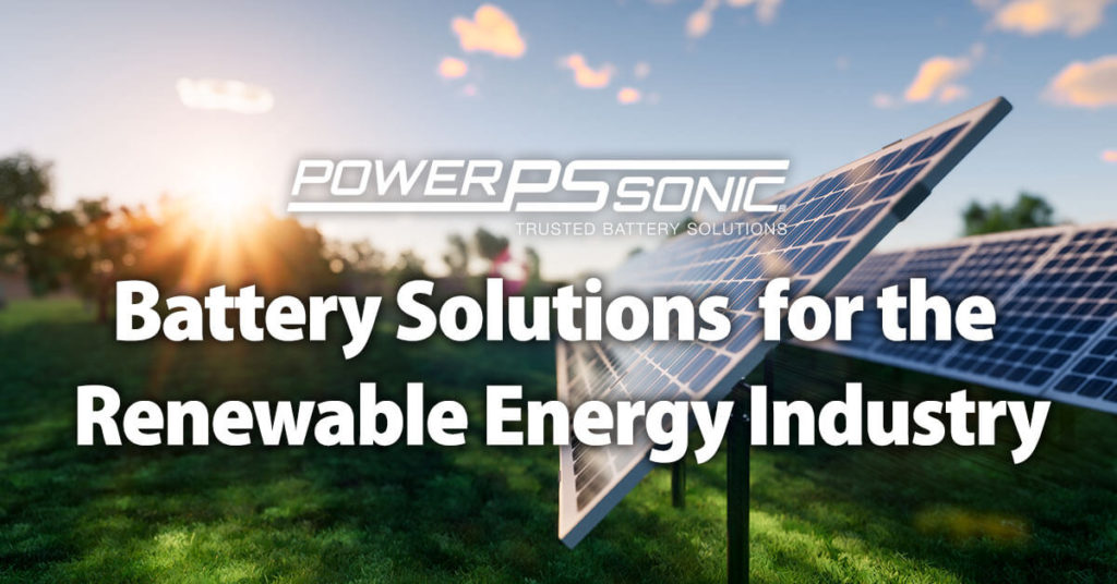 Battery Solutions for Renewable Energy