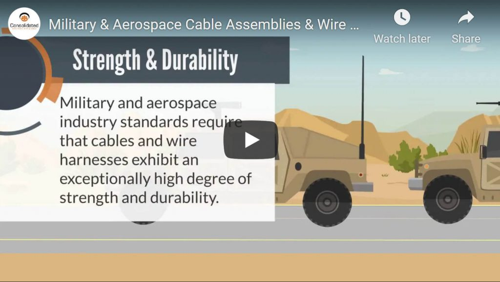 wire harnesses and cable assemblies video for mil aero by consolidated