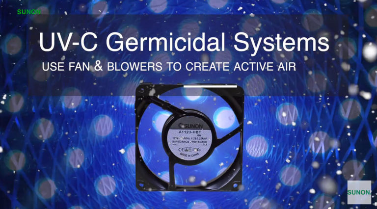 fans for germicidal systems