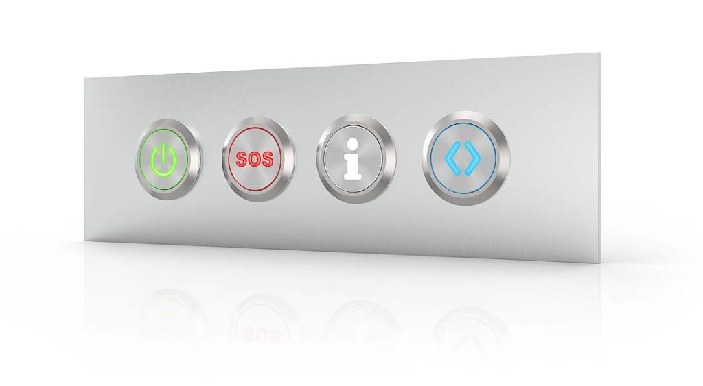 series 82 illuminated pushbuttons high contrast
